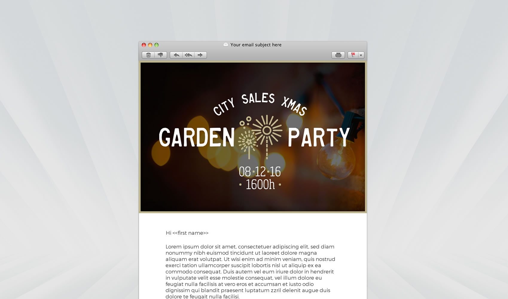 City Sales Ltd. - Designed by Dylan Garrod